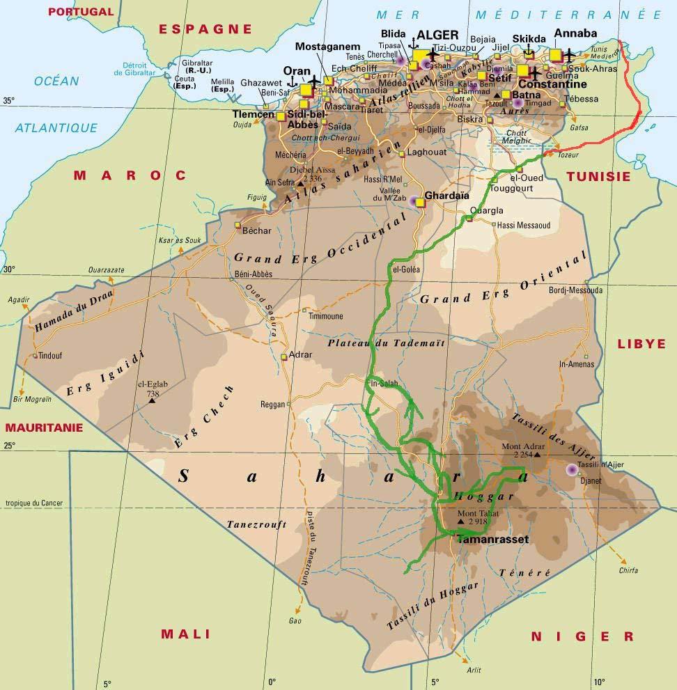 route_algeria